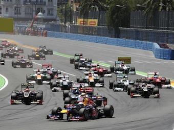 Власти Валенсии отказались от Гран-при Формулы-1
