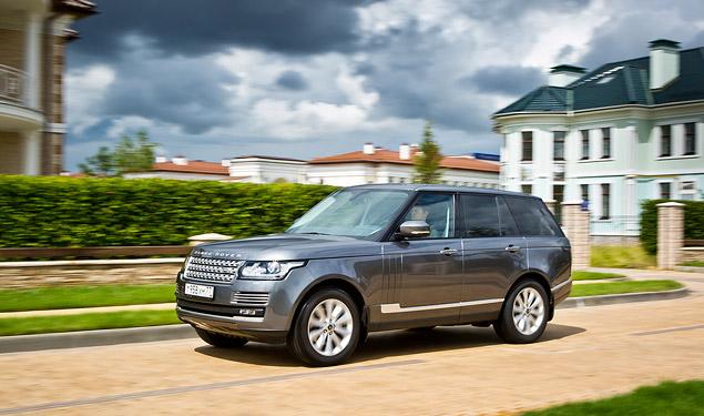 Сможет ли новый Range Rover  в одиночку заменить представительский седан и вездеход. Фото 3
