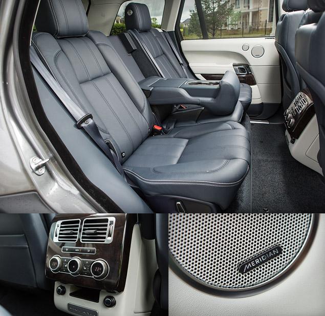 Сможет ли новый Range Rover  в одиночку заменить представительский седан и вездеход. Фото 5