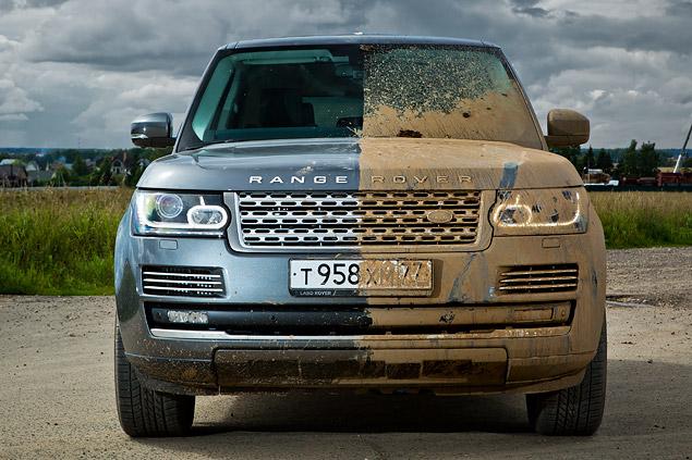 Сможет ли новый Range Rover  в одиночку заменить представительский седан и вездеход. Фото 16
