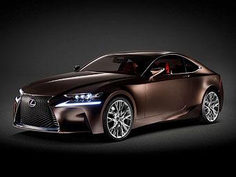 Спорткупе Lexus станет карбоновым