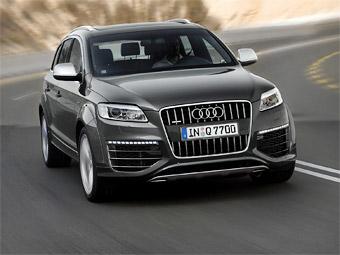 Audi отложит дебют Q7 нового поколения