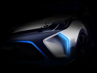 Toyota подготовит ко Франкфурту 400-сильный гибридный Yaris