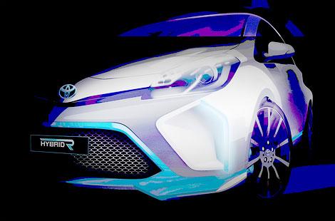 """В """"Тойоте"""" опубликовали новый тизер концептуального спортивного гибрида"""