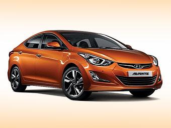 Седан Hyundai Elantra после обновления стал длиннее