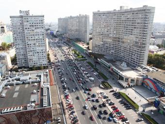 Эксперты посчитали наполняемость машин в Москве