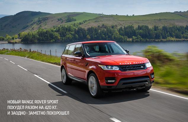 Тест-драйв самого универсального внедорожника наших дней - Range Rover Sport. Фото 1