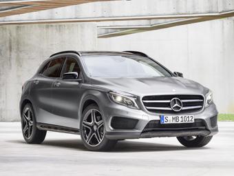 Кроссовер Mercedes-Benz GLA стал серийным