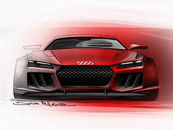 Audi построила для Франкфурта гибридный суперкар