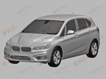 Компания BMW запатентовала дизайн серийного переднеприводного хэтчбека