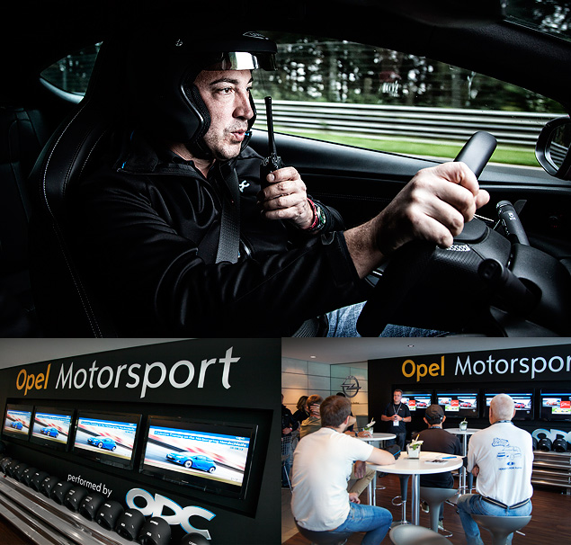 """Восемь кругов по """"Северной петле"""" Нюрбургринга за рулем спортивных моделей Opel OPC"""