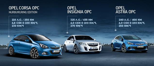 """Восемь кругов по """"Северной петле"""" Нюрбургринга за рулем спортивных моделей Opel OPC. Фото 2"""