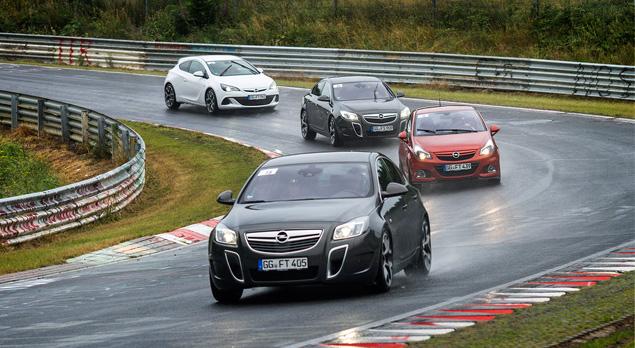 """Восемь кругов по """"Северной петле"""" Нюрбургринга за рулем спортивных моделей Opel OPC. Фото 9"""