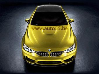 """В Сети появилось изображение """"заряженного"""" купе BMW M4"""