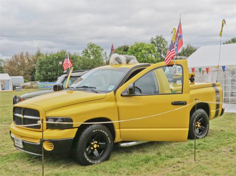 Новый концепт-кар Ram представят на американском автомобильном фестивале. Фото 1