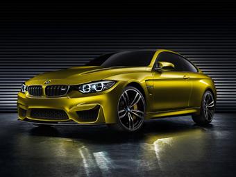 "Компания BMW представила предвестника ""горячего"" купе 4-Series"