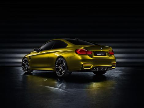 Первый живой показ концепт-кара BMW M4 состоится на конкурсе элегантности в Пэббл-Бич