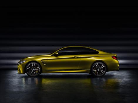 Первый живой показ концепт-кара BMW M4 состоится на конкурсе элегантности в Пэббл-Бич. Фото 1