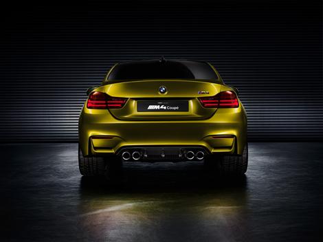 Первый живой показ концепт-кара BMW M4 состоится на конкурсе элегантности в Пэббл-Бич. Фото 2