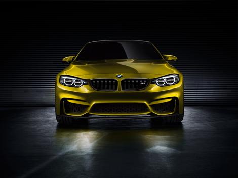 Первый живой показ концепт-кара BMW M4 состоится на конкурсе элегантности в Пэббл-Бич. Фото 3
