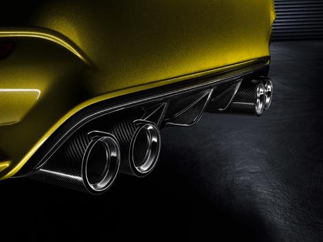Первый живой показ концепт-кара BMW M4 состоится на конкурсе элегантности в Пэббл-Бич. Фото 4