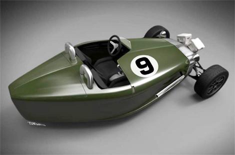 Компания Castle Three Motor намерена впервые за сто лет создать трехколесную модель