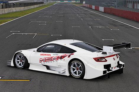 Гоночный вариант суперкара NSX примет участие в японской серии Super GT500