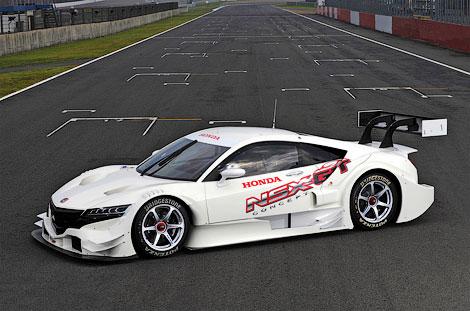 Гоночный вариант суперкара NSX примет участие в японской серии Super GT500. Фото 1