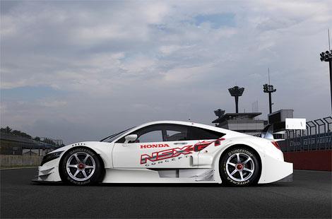Гоночный вариант суперкара NSX примет участие в японской серии Super GT500. Фото 2