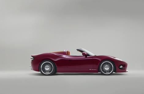 Серийное производство Spyker B6 Venator Spyder начнется через год. Фото 3