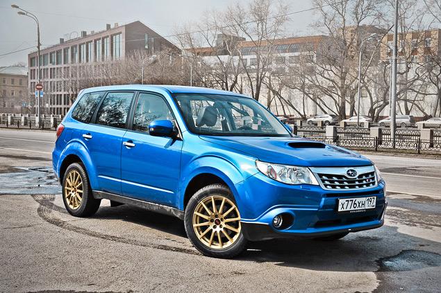 Длительный тест Subaru Forester tS: итоги и стоимость владения