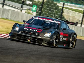 Nissan представил для японского чемпионата новый гоночный GT-R