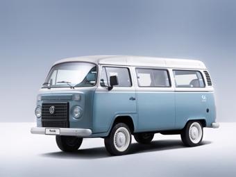 Бразильцы завершат выпуск 60-летнего минивэна Volkswagen спецверсией