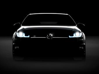 Volkswagen частично раскрыл новый Golf R