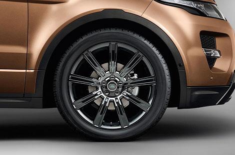 """Компания Land Rover обновила кроссовер """"Эвок"""". Фото 1"""