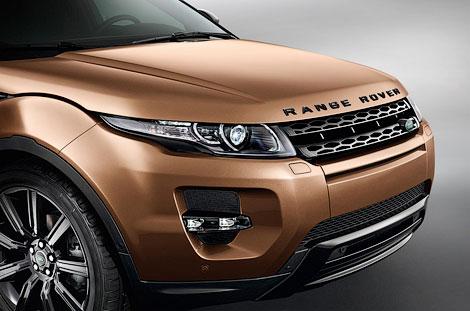 """Компания Land Rover обновила кроссовер """"Эвок"""". Фото 2"""