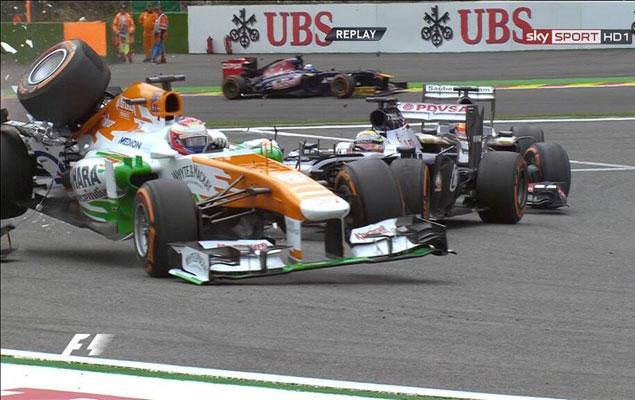 Онлайн-трансляция одиннадцатого этапа Формулы-1 2013 года