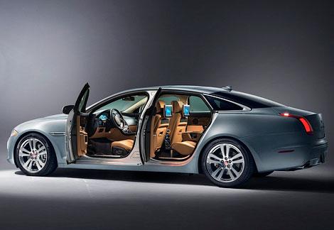 Седан Jaguar XJ обновился