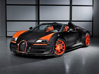 """Компания Bugatti опровергла разработку экстремального """"Вейрона"""""""