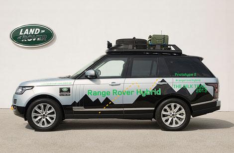 Range Rover и Range Rover Sport получили 340-сильную гибридную силовую установку