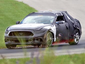 Фотошпионы рассекретили дизайн нового Ford Mustang