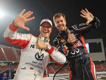 Михаэль Шумахер в седьмой раз выступит в Гонке чемпионов