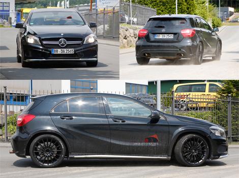Хэтчбек Mercedes-Benz A45 AMG станет 400-сильным