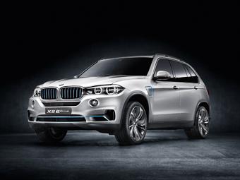 BMW X5 нового поколения превратили в гибрид