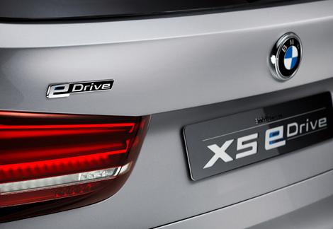 Гибридная версия X5 сможет проехать 30 километров на электротяге. Фото 4