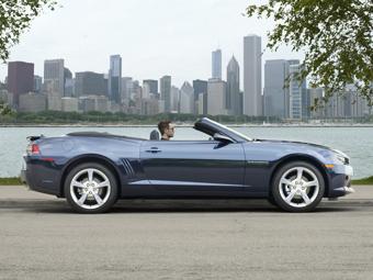 Обновленный Chevrolet Camaro лишили крыши