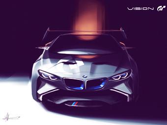 Компания BMW создала спорткар для гоночного симулятора