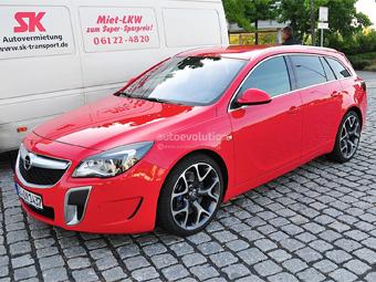 """Opel обновил """"заряженный"""" универсал Insignia"""
