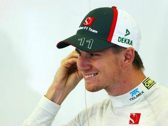 Команда Sauber погасила зарплатный долг перед Хюлькенбергом