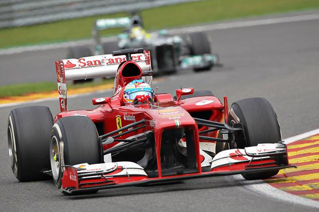 Себастьян Феттель завоевал пятую победу в сезоне Формулы-1. Фото 3